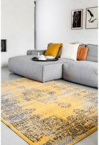 Vintage Vloerkleed Bloom - Geel - EVA Interior Afmetingen - 120 x 170