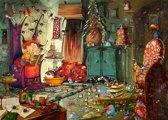 Legpuzzel - 500 stukjes - Heks - Lezen,  Francois  Ruyer - Grafika puzzel