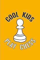 Cool Kids Play Chess: Chess Pawn Piece 2020 Planner - Weekly & Monthly Pocket Calendar - 6x9 Softcover Organizer - For Player & Nerds Fans