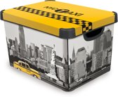 Curver Decobox Stockholm Opbergbox - 25 l - New York City