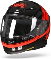 SHOEI NXR PHILOSOPHER TC-1 ZWART ROOD INTEGRAALHELM L