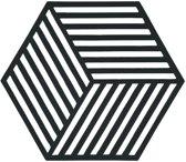 zeshoekige rozijn kleur onderzetter Hexagon