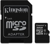 Kingston 32GB MicroSDHC-geheugenkaart (Class 10) + Adapter