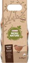 Versele-Laga Menu Nature Mezenbol gourmet rozijn/haver 540 g