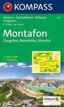 Kompass WK032 Montafon Gargellen, Bielerhöhe, Silvretta