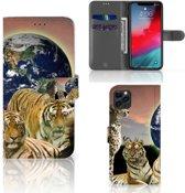 iPhone 11 Pro Max Telefoonhoesje met Pasjes Roofdieren