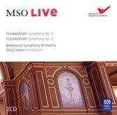 Tchaikovsky: Symphony No. 4; Symphony No. 5