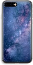iPhone 7 Plus Transparant Hoesje (Soft) - Nebula
