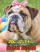 Dog Journal English Bulldog