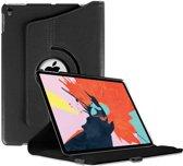 Apple iPad Pro 12.9 2018 hoesje - Rotating 360 Case - zwart