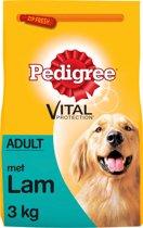Pedigree Droog Adult - Lamsvlees - Hondenvoer - 3 kg