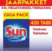 Sun Classic vaatwastabletten 420 Tabs | XXL voordeelverpakking | 420 vaatwastabletten | Aanbieding