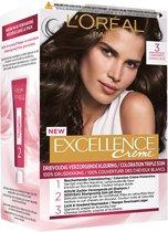 L'Oréal Paris Excellence Crème 3 - Donkerbruin - Haarverf