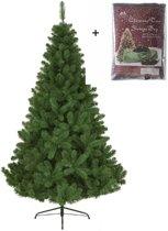Everlands Imperial pine kunstkerstboom 210cm - met GRATIS opbergzak