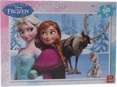 King Disney Frozen Legpuzzel 50 Stukjes