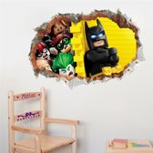 Muursticker Batman figuren 3D | kinderkamer - jongenskamer | cartoon - tv/film