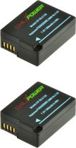 ChiliPower Panasonic DMW-BLC12, DMW-BLC12E, DMW-BLC12PP 1300mAh accu - 2 stuks verpakking