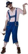 Blauw Beiers zombie kostuum voor mannen - Volwassenen kostuums