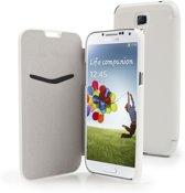 Muvit - IFlip Folio case - Samsung Galaxy S4 - wit