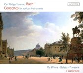 Cpe Bach-Concertos For Various Instruments