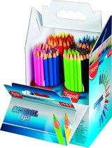 Color'peps kleurpotlood schoolverpakking - 4 koker x 36