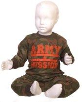 Fun2Wear Army Green Pyjama Maat 98