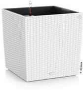 LECHUZA Plantenbak Cube Cottage 40 wit ALL-IN-ONE