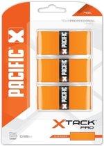 Pacific X Tack Pro Overgrip Feel Oranje 0.55 Mm 3 Stuks