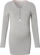 Noppies Voedingsshirt Feline - Grey Melange - XS