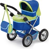 Bayer Poppenwagen Trendy Groen Blauw