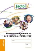 Factor-E Klassenmanagement en een veilige leeromgeving Training