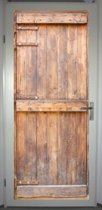Deurposter 'Deur 9' - deursticker 75x195 cm - LINKS