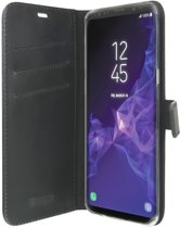 Valenta Zwart Booklet Leather Samsung Galaxy S9 Plus