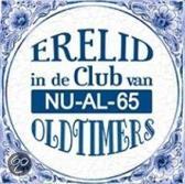 Delfts Blauwe Spreukentegel - Erelid in de club van NU-AL-65 Oldtimers