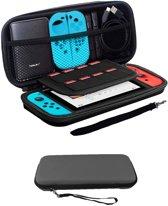Bescherm Case Hard Cover Hoesje Geschikt voor Nintendo Switch - Grijs