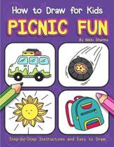 How to Draw for Kids - Picnic Fun