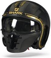 SHARK S-DRAK VINTA CARBON CHROME GOUD DUQ L