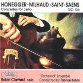 Robin Clavreul - 3 Concertos For Cello