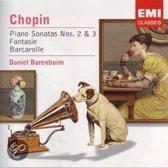 Daniel Barenboim - Chopin Piano Sonato No 2& 3