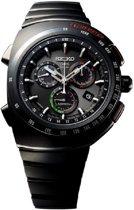 Seiko Astron SSE121J1 horloge heren - zwart - titanium