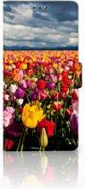 Leuk Hoesje Tulpen voor de Sony Xperia XA1 Ultra