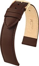 Hirsch horlogeband CORSE 20mm Bruin M