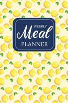 Weekly Meal Planner: 52 Week Meal Planner & Grocery list: Food Planners Prep Book Eat Records / Journal / Diary / Log / Calendar