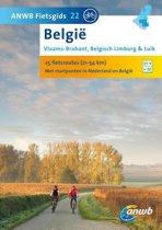 Boek cover ANWB Fietsgids 22 / Belgie Vlaams - Brabant Limburg en Luik van Pim Verver