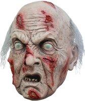 Zombie Masker Oude man - Luxe Uitvoering
