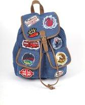 Adventure Bags Jeans Patch Rugtas