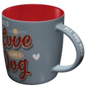 NOSTALGIC ART KOFFIETAS LOVE DOG