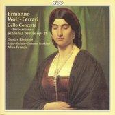 Wolf-Ferrari: Cello Concerto, Sinfonia Brevis / Rivinius