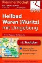 Klemmer Pocket Rad- und Wanderkarte Heilbad Waren (Müritz) mit Umgebung 1 : 50 000