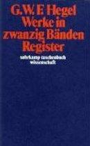 Werke in Zwanzig Banden, Register